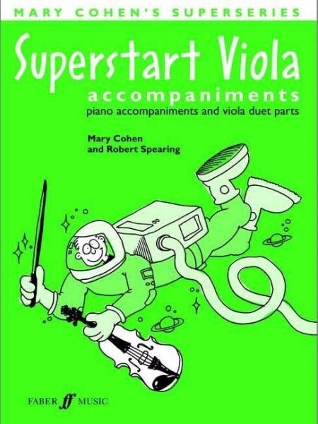 Superstart Viola accompaniments - Mary Cohen