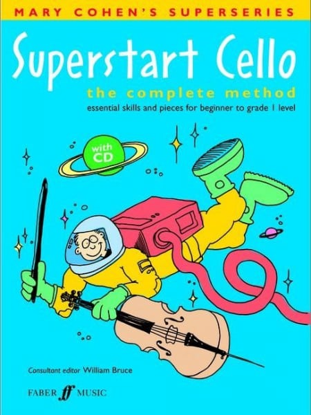 Superstart Cello (book/CD) - Mary Cohen
