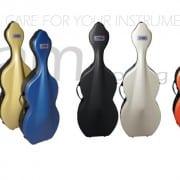 BAM cello case SHAMROCK