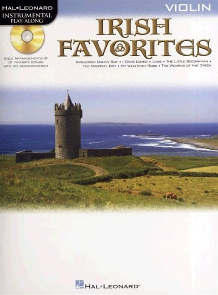 Irish Favorites playalong (violin, viola or cello)