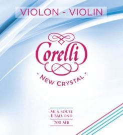Corelli Crystal Violin D string Medium