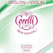 Corelli Crystal Violin D string Soft