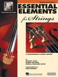 Essential Elements for strings Double Bass book 1