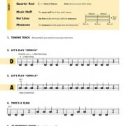 Essential Elements for strings violin book 1 page 2