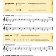 Essential Elements for strings violin book 1 page 3