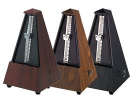 Wittner Plastic pyramid Metronome with bell