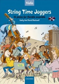 String Time Joggers Violin book + CD