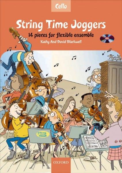 String Time Joggers Cello book