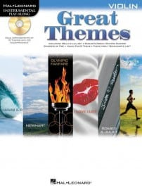 Great themes playalong (violin, viola or cello)