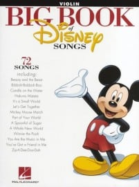 Big book of Disney songs (violin, viola or cello)