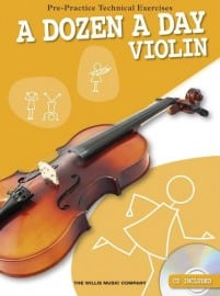 Dozen a day violin
