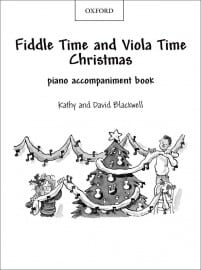 Fiddle Time and Viola Time Christmas Piano Book
