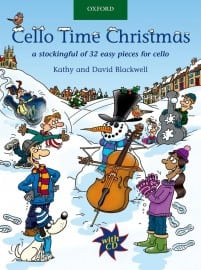 Cello Time Christmas (Book & CD)