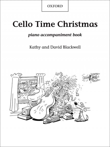 Cello Time Christmas (Piano book) - Blackwell