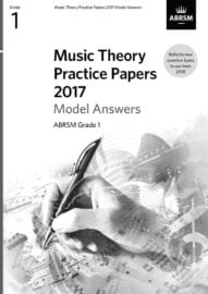 ABRSM Music Theory past paper Grade 1 MODEL ANSWERS