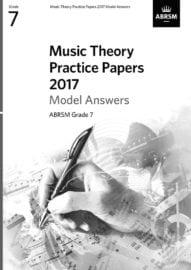 ABRSM Music Theory past paper Grade 7 MODEL ANSWERS