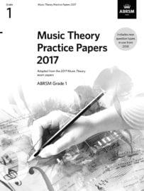 ABRSM Music Theory past paper Grade 1