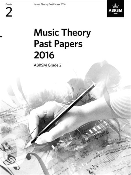 ABRSM Theory past paper grade 2 2016