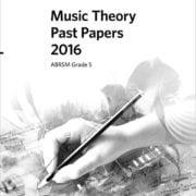 ABRSM Theory past paper grade 5 2016