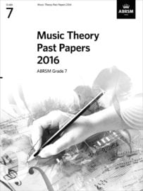 ABRSM Theory past paper grade 7 2016