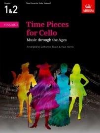 Time Pieces for Cello Volume 1