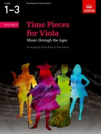 Time Pieces for Viola volume 1