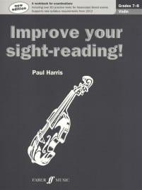 Improve your sight reading! Violin Grade 7-8