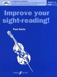 Improve your Sight Reading Cello Grades 1-3