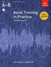 Aural training in practice 6-8 ABRSM