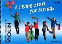 Flying start for strings violin duet