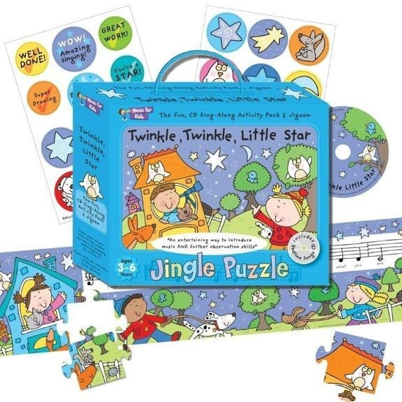 Music For Kids: Jingle Puzzle - Twinkle, Twinkle, Little Star