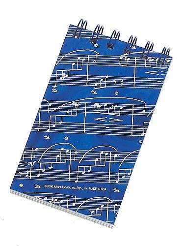 Hologram Spiral Notebook: Sheet Music