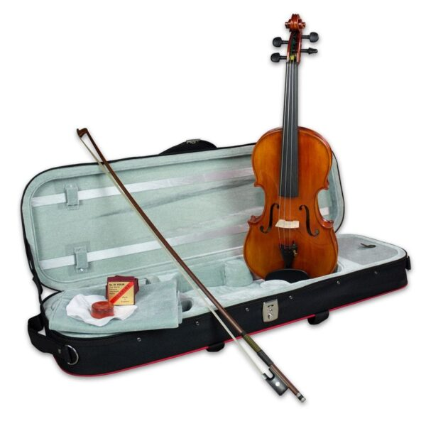 The Hidersine Piacenza violin outfit is ideal for violinists moving up a level