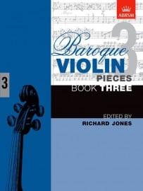 Baroque Violin Pieces book 3