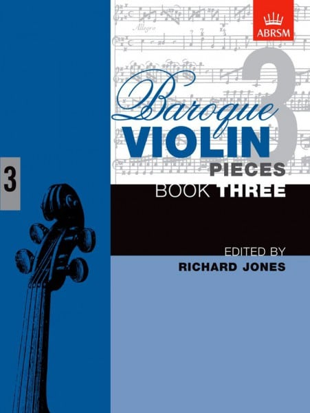 Baroque Violin Pieces book 3