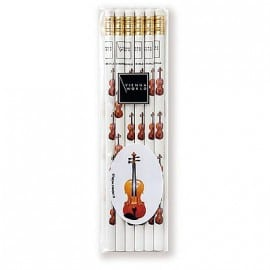 Pencil set - violin design