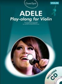 Adele playalong for violin