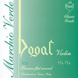 Dogal Green violin D String