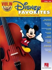 Disney Favorites violin playalong