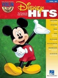 Disney Hits violin playalong