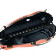 BAM Hightech SLIM (orangey) violin case