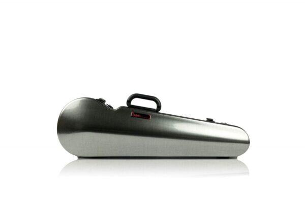 BAM Hightech contoured Tweed violin case