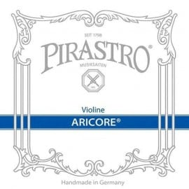 Aricore violin G string has a polyester core