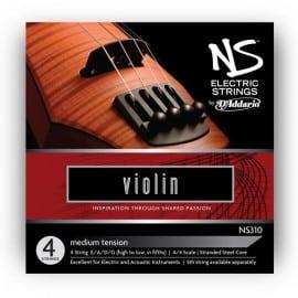 NS Electric Violin string set