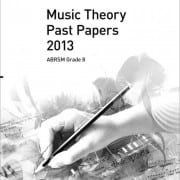 ABRSM Theory past paper grade 8