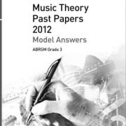 Answers: ABRSM Theory past paper grade 3
