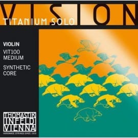 Vision Titanium solo violin SET strings