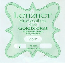 Optima (Lenzner) Goldbrokat Violin G string