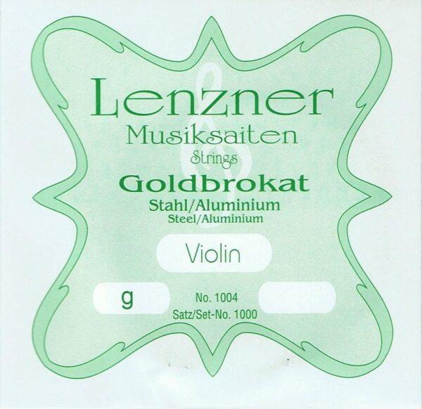 Optima (Lenzner) Goldbrokat Violin G string