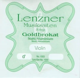 Optima (Lenzner) Goldbrokat Violin D string